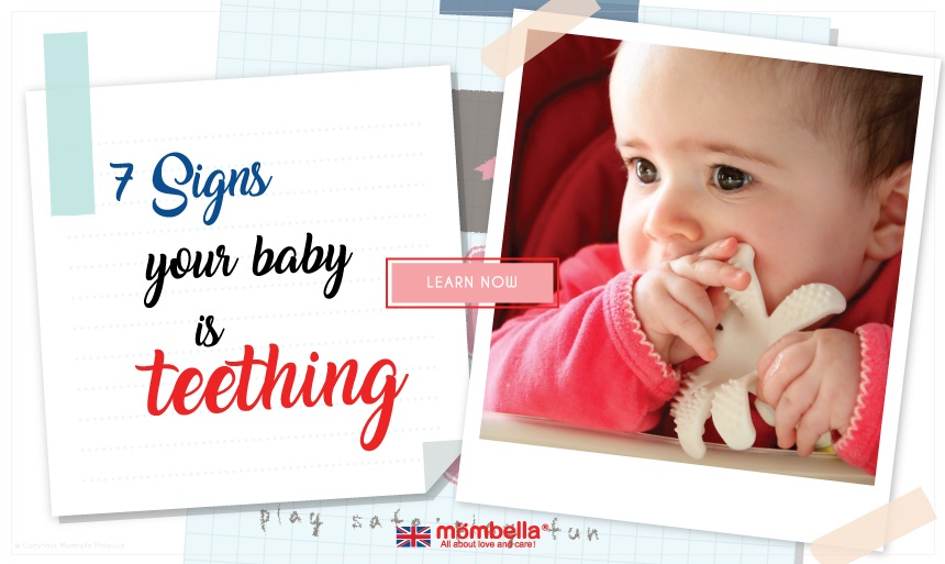 7 Symptoms of Your Baby is Teething
