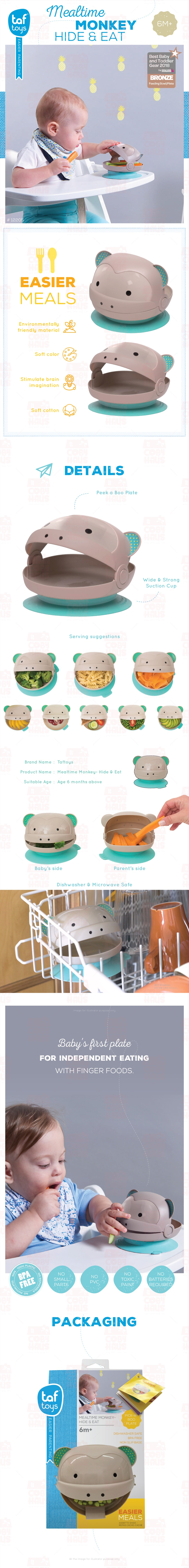 Taf Toys Meal Time Monkey