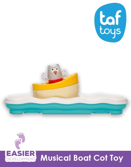 [Taf Toys] Musical Boat Owl Toy