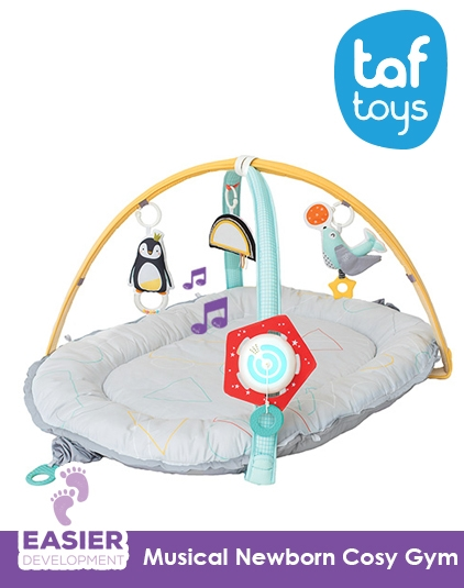 [Taf Toys] Musical Newborn Cosy Gym
