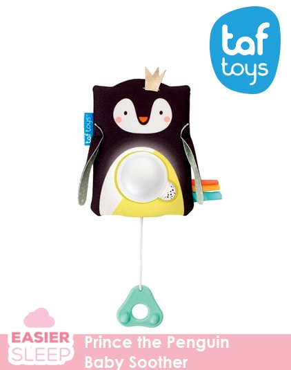 [Taf Toys] Prince the Penguin Baby Soother