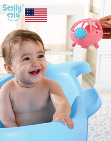 [Smily Mia] Nick Hippo Silicone Teether Toy