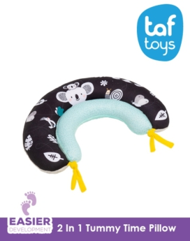 [Taf Toys] 2 In 1 Tummy Time Pillow