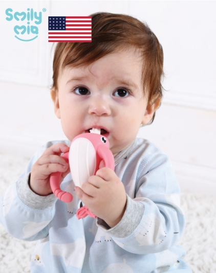 [Smily Mia] Nora Narwhal Teether Toy