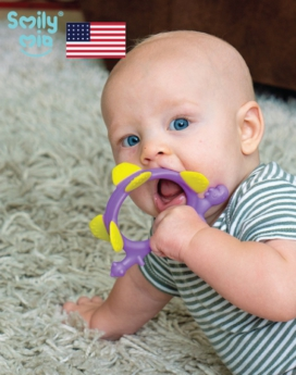 [Smily Mia] Norman Dinosaur Teether Toy