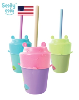 [Smily Mia] Nick Hippo Silicone Cup Lid