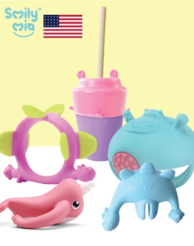[Smily Mia] Family Teether Set