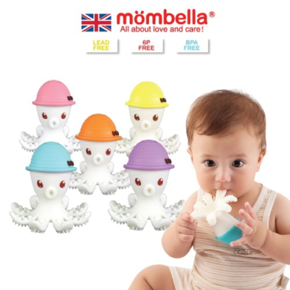 [MOMBELLA] Octopus Teether Toy