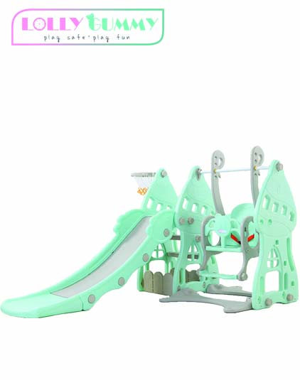 [LOLLY GUMMY] 3-IN-1 Slide & Swing Fitness Set - SOLD OUT