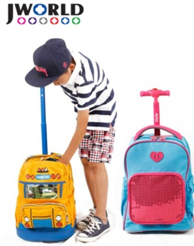 [JWORLD] KRB Kids Rolling Backpack