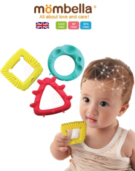 [MOMBELLA] Geometry Educational Teether Toys