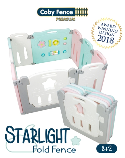 [COBY FENCE] 8+2 Fold Fence - Starlight