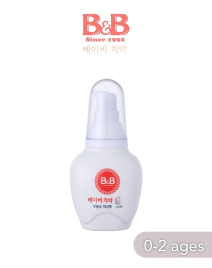 [B&B] Baby Toothpaste 80g (Liquid Type) 0-2 yr old