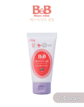 [B&B] Baby Toothpaste 40g (Gel Type) 2-4 yr old