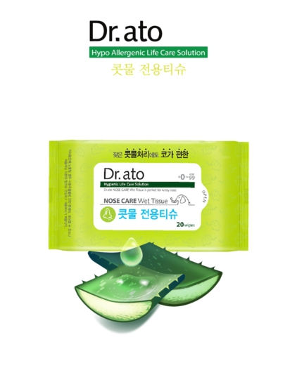 [DR.ATO] Wet Tissue Nose Care