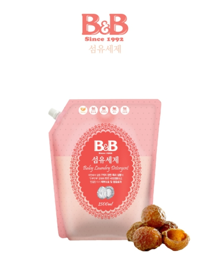[B&B] Skin Protection Laundry Detergent 1500ml Refill