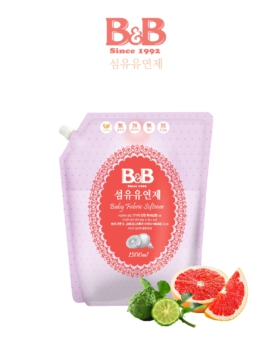 [B&B] Baby Fabric Softener (Bergamot) 1500ml Refill