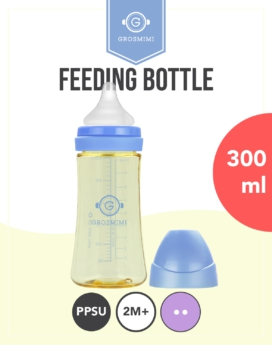 [Grosmimi] PPSU Feeding bottle 300ml - 2M+