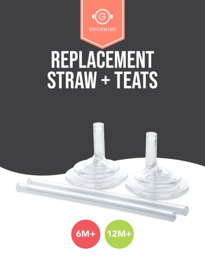 [Grosmimi] Replacement Straw + Teats