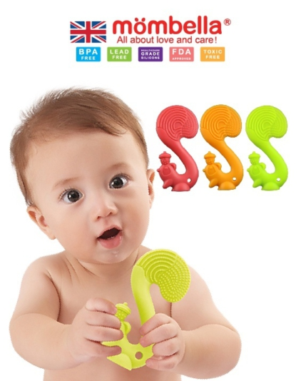 [MOMBELLA] Teether Toys Squirrel