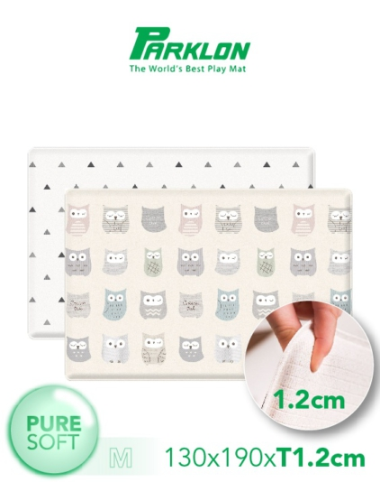 [PARKLON] Pure Soft Mat 130*190*1.2 - Cotton Owl