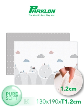 [PARKLON] Pure Soft Mat 130*190*1.2 Happy Way