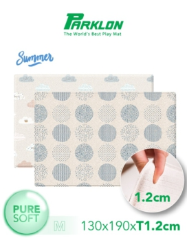 [PARKLON] Pure Soft Mat 130*190*1.2 - Blue Spot