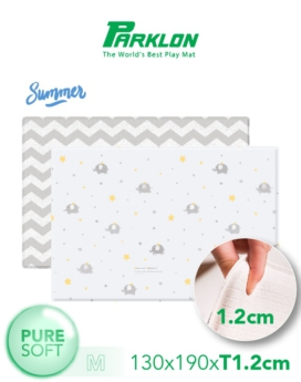 [PARKLON] Pure Soft Mat 130*190*1.2 - Elephant Star