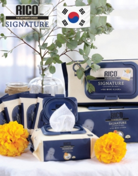 [RICO] Premium Wet Wipes - Signature